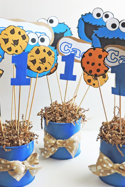 DIY Cookie Monster Party