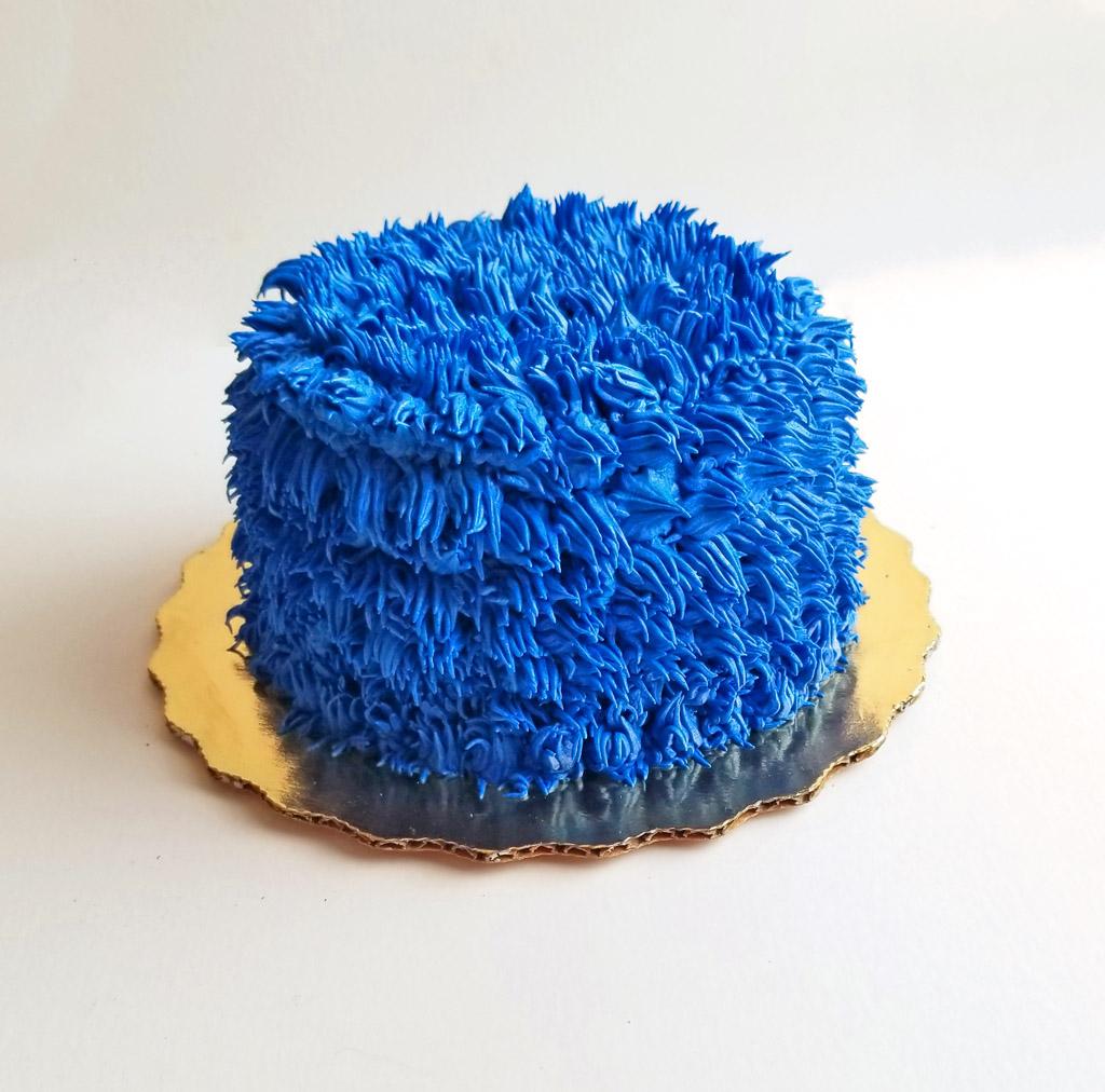 Diy Cookie Monster Smash Cake Beautiful Eats Amp Things