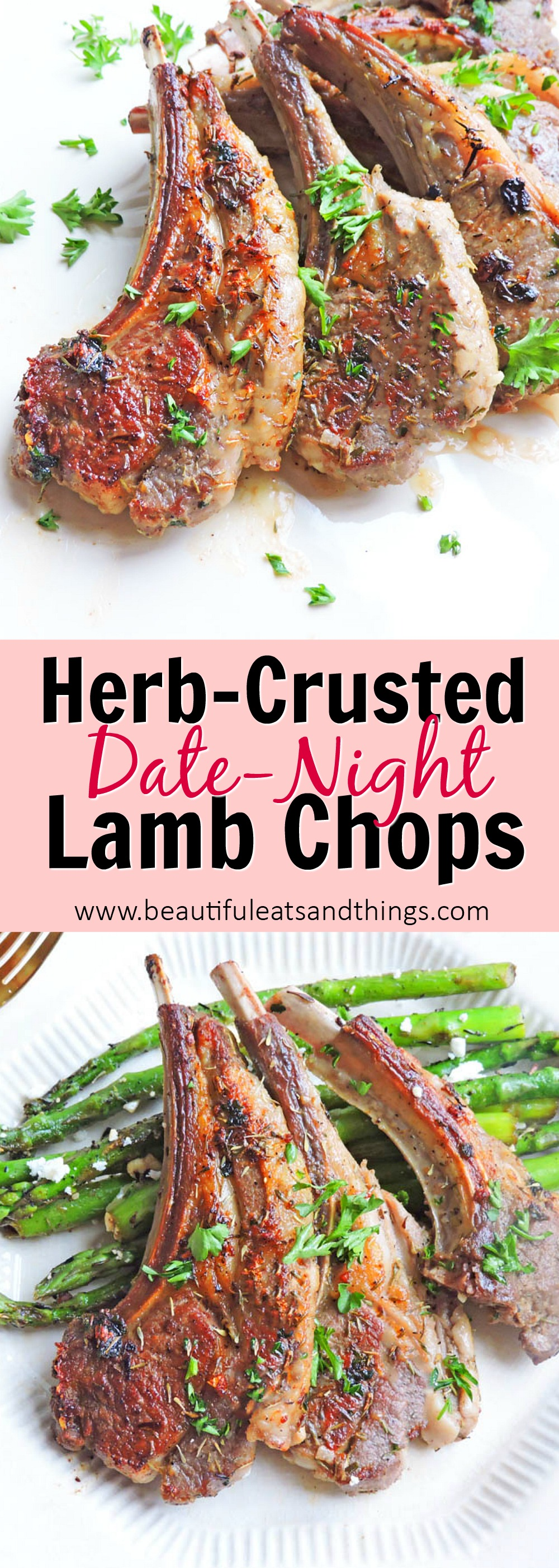 Date Night Herb Crusted Lamb Chops