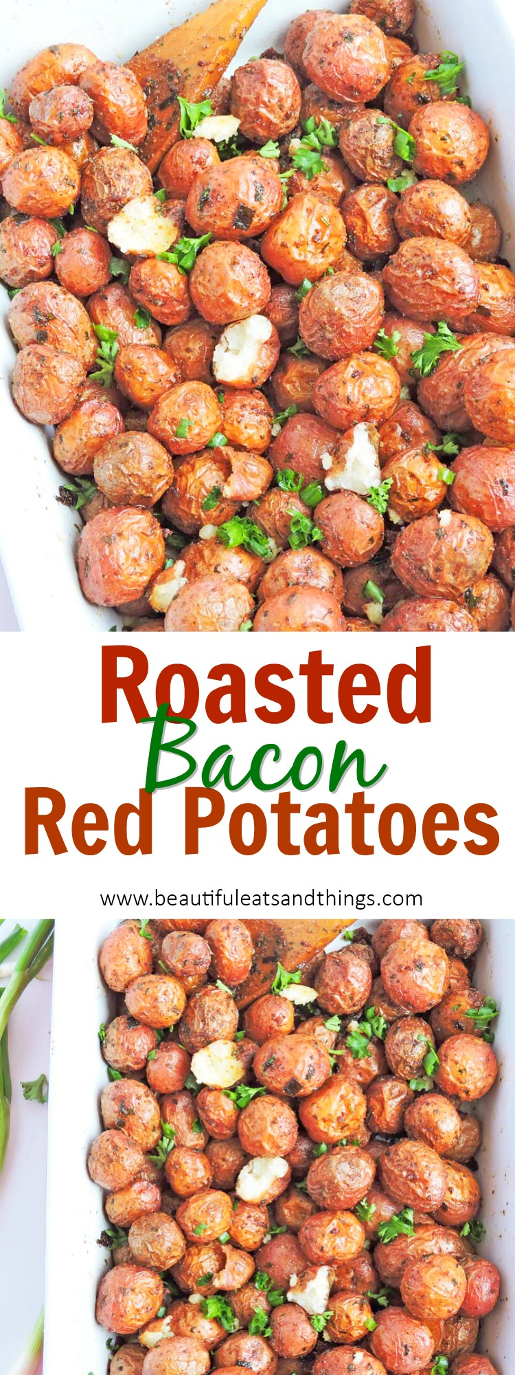 Bacon Roasted Red Potatoes