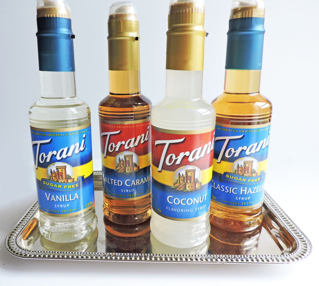 Tropical Pineapple Coconut Cooler-Torani Syrup Flavors: Coconut, Salted Caramel, Hazelnut, and Sugar Free Vanilla