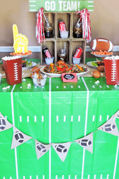 Planning the Perfect Football Homegating Party