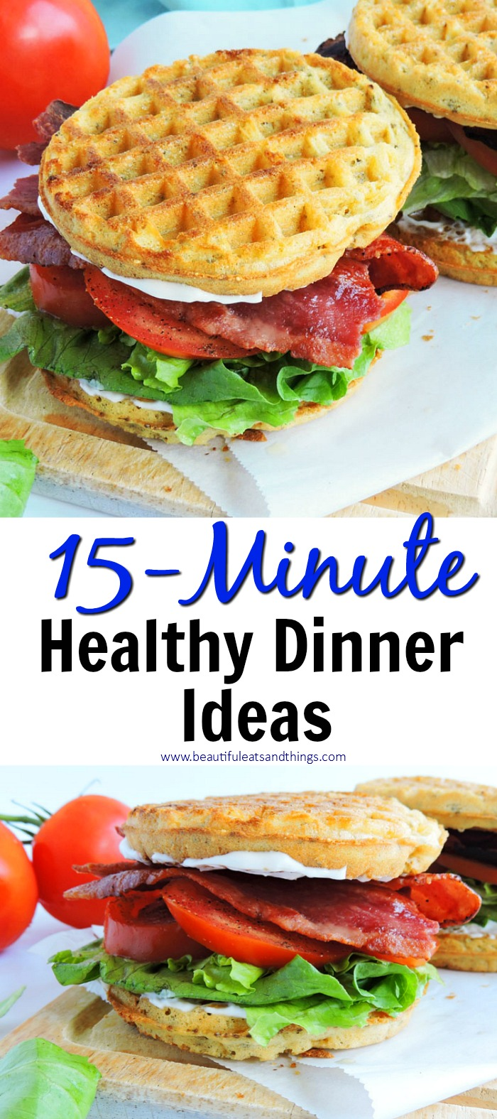 Tasty Healthy Dinner Meals Made in 15 Minutes or Less