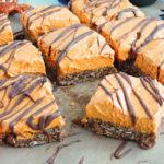 Creamy Pumpkin Chocoalte Granola Bars