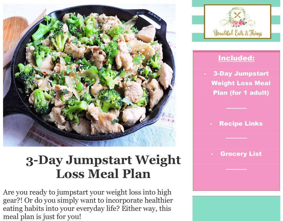 3-Day Jumpstart Weight Loss Meal Plan Banner